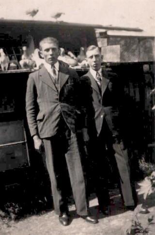 40.caa11a.  Frederik  en  Wolter Meis. 1938