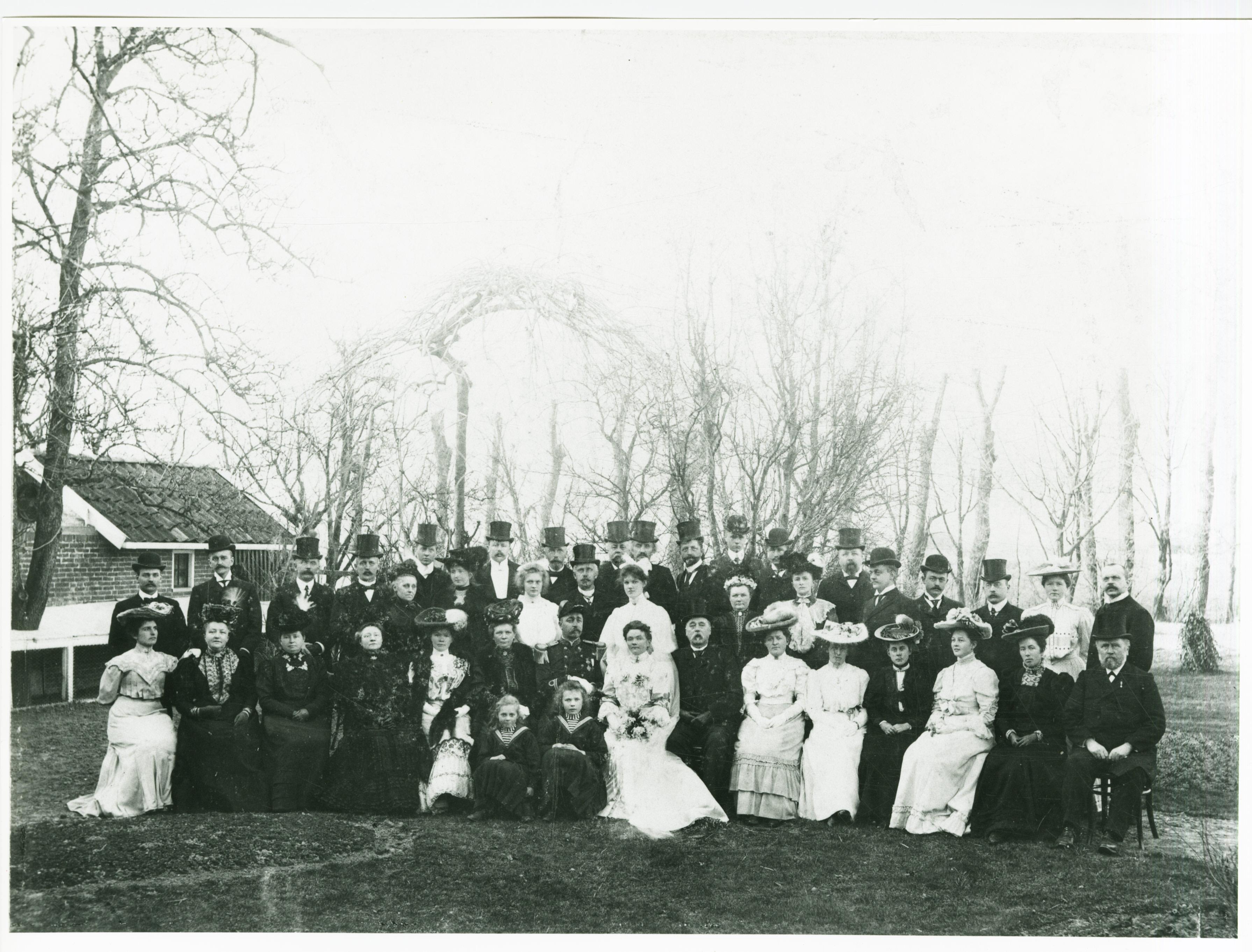 Familie Dijkhuis, huwelijk Renne Dijkhuis en Kunna Torringa. Foto RHC