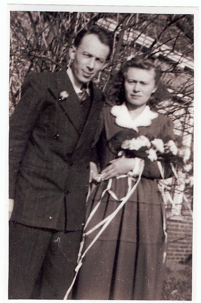 Geert Lugtenborg en zijn vrouw, Eline Veldkamp