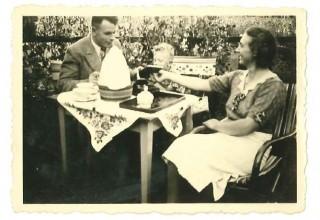 Jacob Vosman met gezin