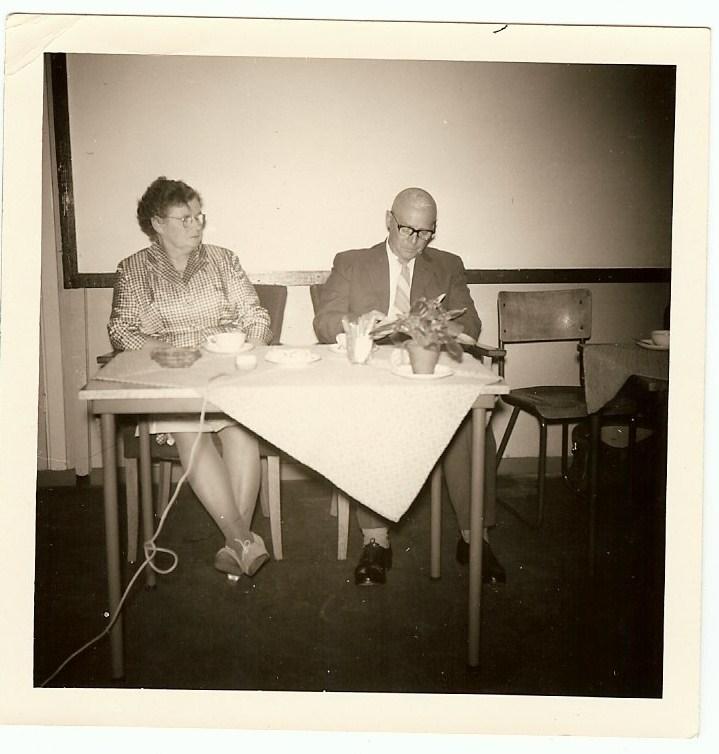 Jan Douma en echtgenote