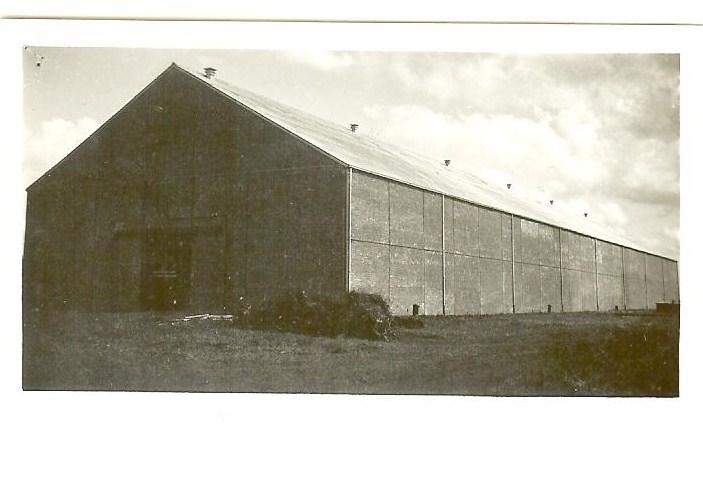 Loods strokartonfabriek Erica II in Oostwold