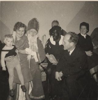 Mevrouw Nuninga, Sint en Piet, Jan Nuninga en Feka Nieboer (1961)