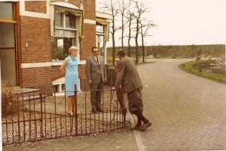 Overleg tussen Barlagen en Technisch directeur de heer Folkers