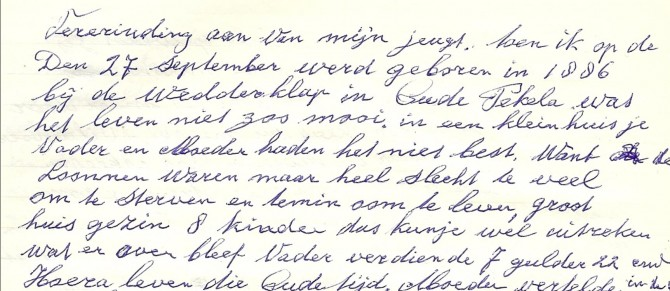 Tekst dagboek 1