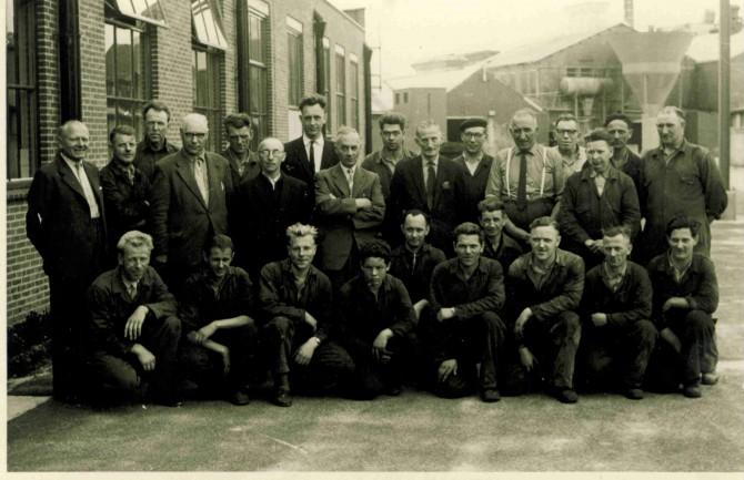 pa met zijn Union ploeg foto van J ter Velde