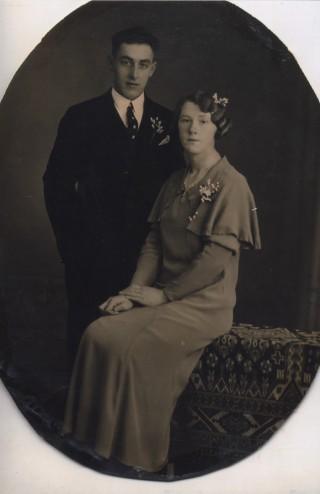 Hendrik Tiggelaar en zijn vrouw