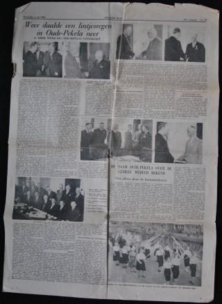 Lintjesregen Britannia III gekregen van W.A.H. Rozema