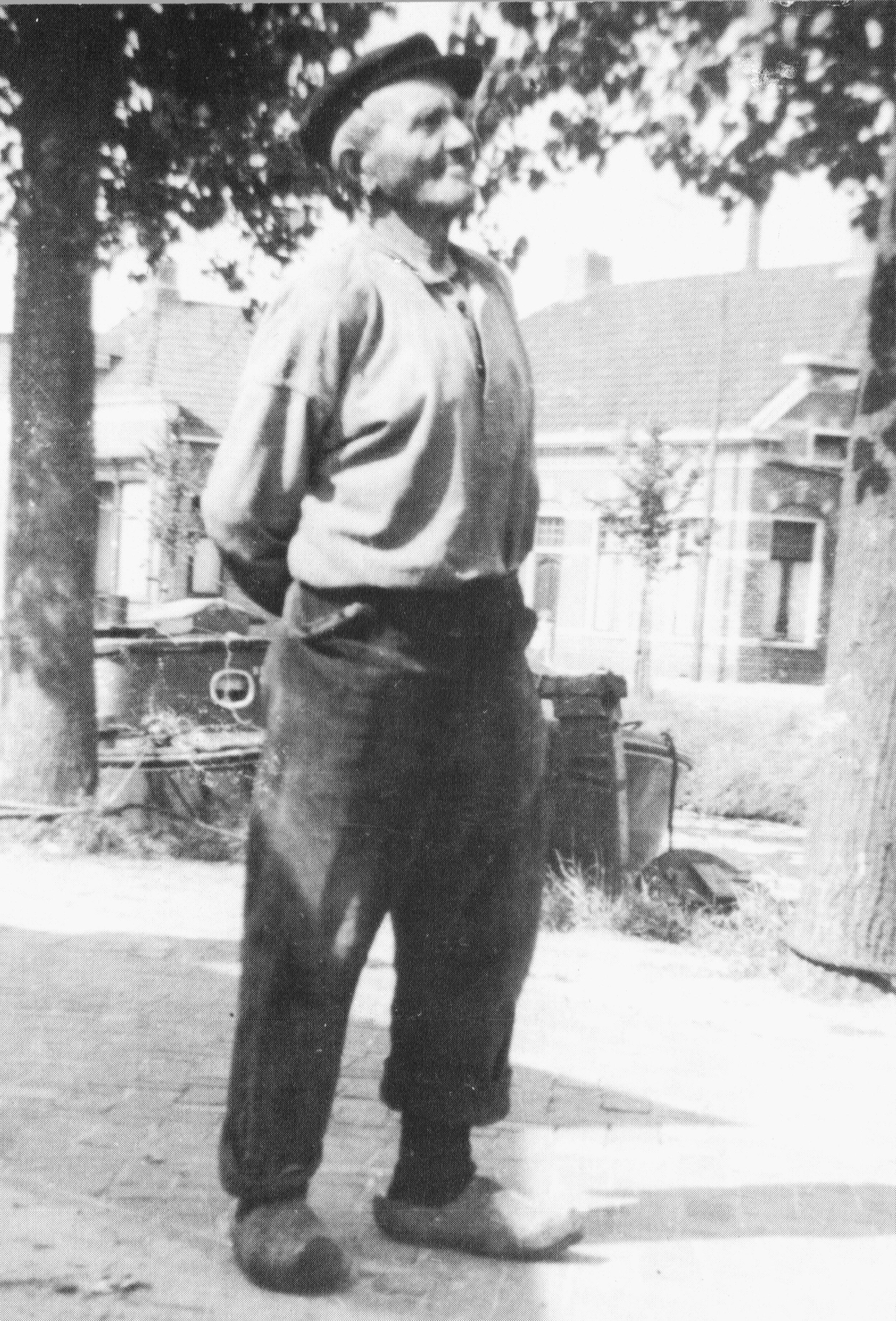 opa Jan Veen staand